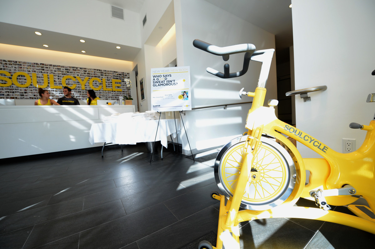 A SoulCycle studio. Photo: Michael Buckner/Getty Images
