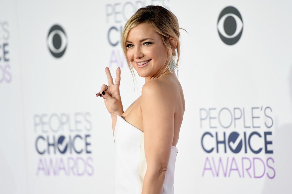Kate Hudson in Stella McCartney at the 2016 People's Choice Awards at the Microsoft Theater in Los Angeles. Photo: Jason Merritt/Getty Images