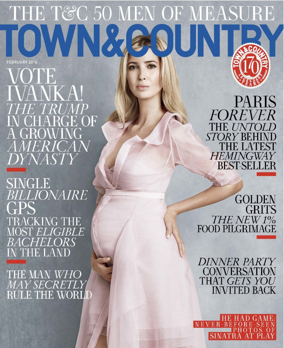 Town & Country February '16 Cover