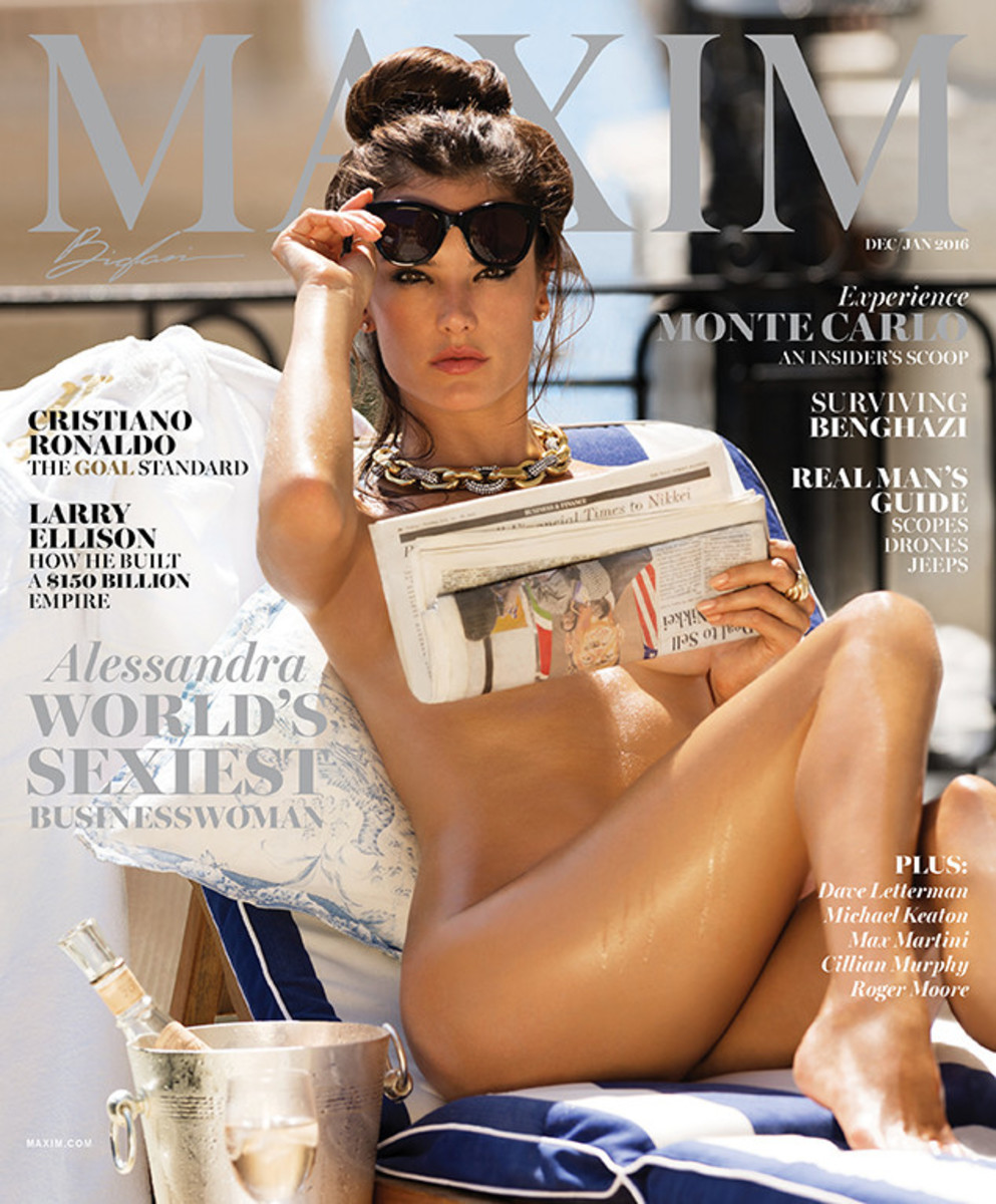 Alessandra Ambrosio covers 'Maxim.' Photo: Maxim