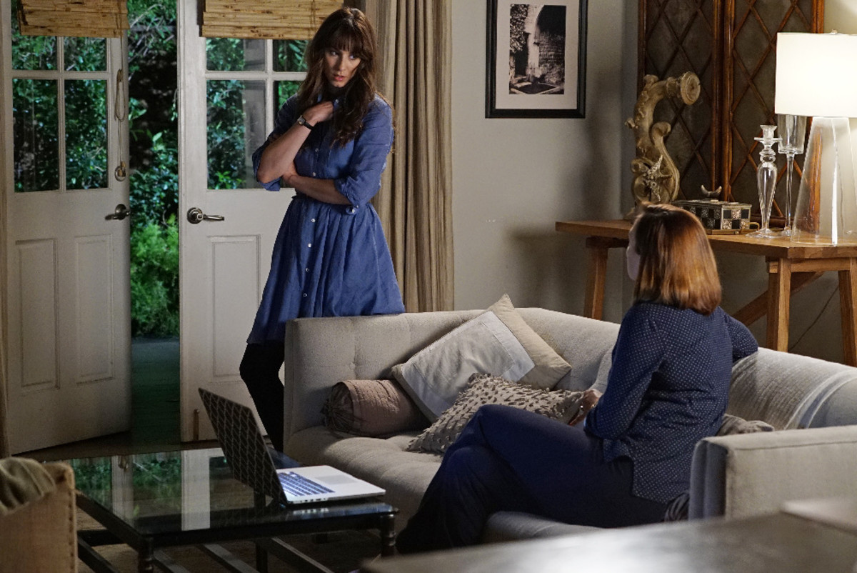 What would Claire Underwood do? Spencer in the second episode of the midseason. Photo: ABC Family/Ron Tom