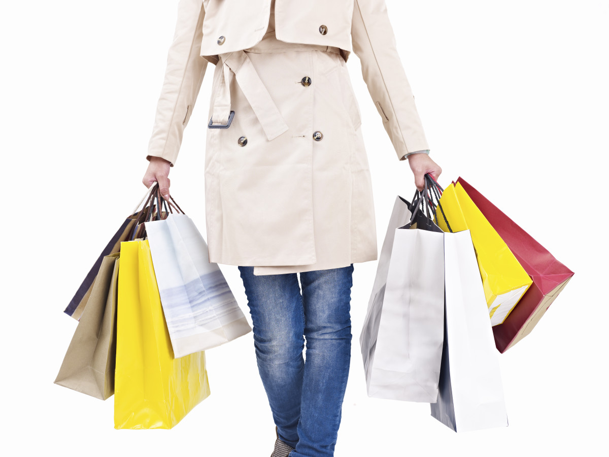 Leave the emotional baggage of 2015 behind and fill your empty soul with commercial goods. Photo: iStock
