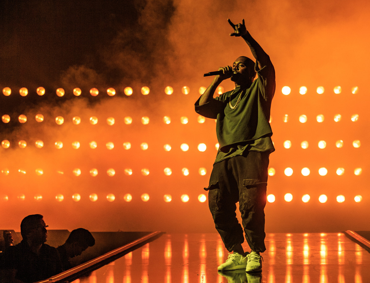 Kanye West performs at the 2015 iHeartRadio Music Festival in Sept. 2015 in Las Vegas. Photo: Christopher Polk/Getty Images