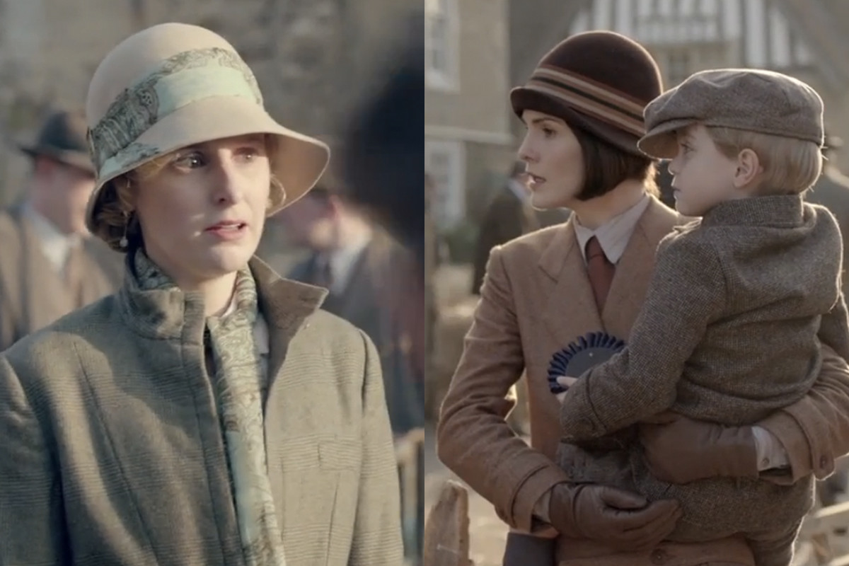 More glorious hats. Screengrabs: PBS/Masterpiece