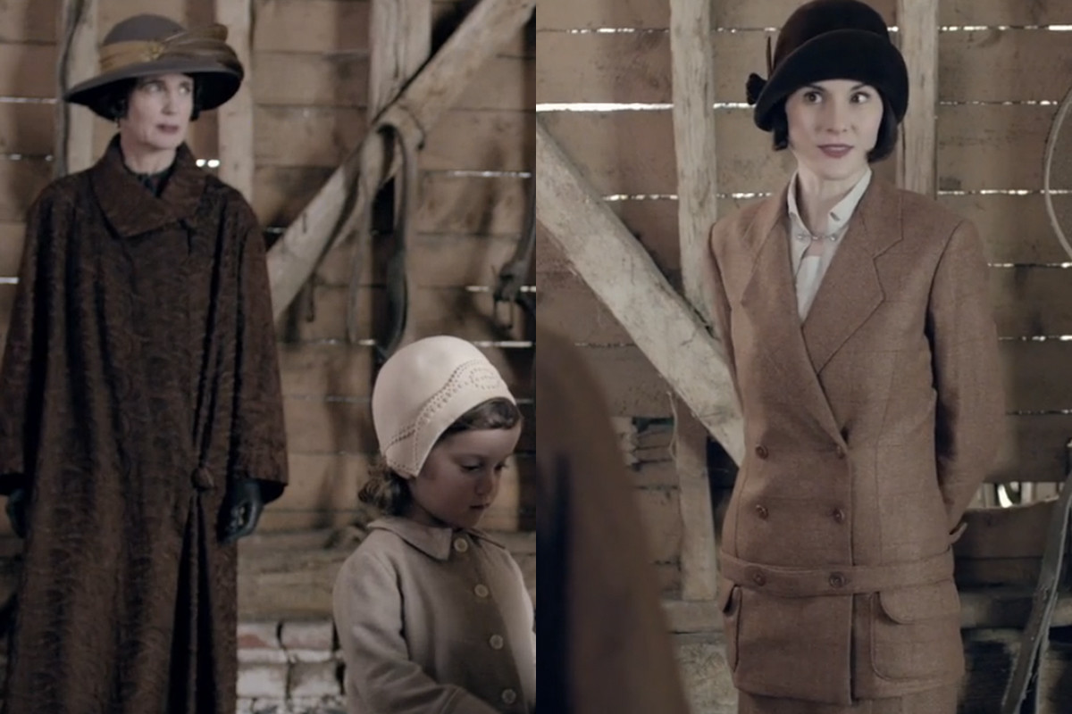 Brown does not have to equal boring. Screengrabs: PBS/Masterpiece