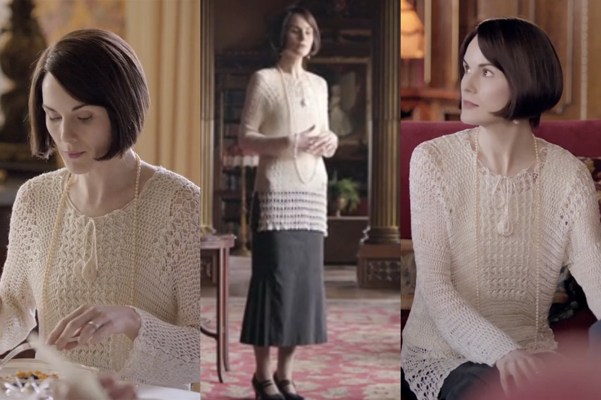 Thoughts about this sweater? Screengrabs: PBS/Masterpiece