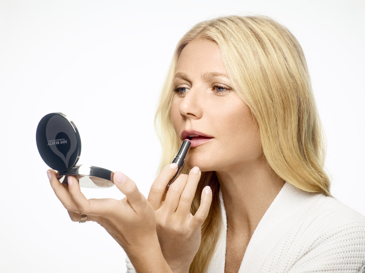 A Juice Beauty campaign image featuring Gwyneth Paltrow. Photo: Warwick Saint/Juice Beauty