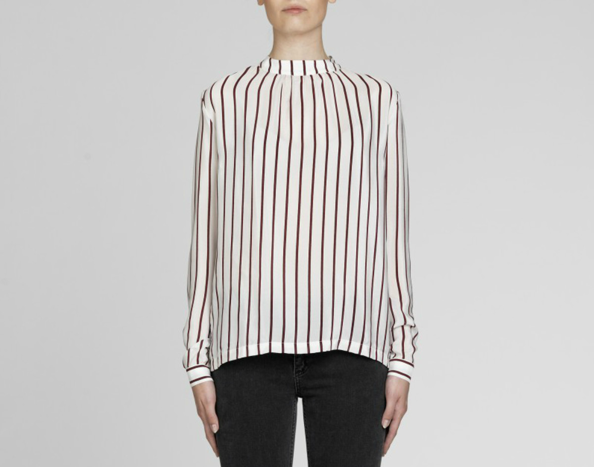 "Second Female ""Fenda"" blouse, $102.60, available at Second Female."