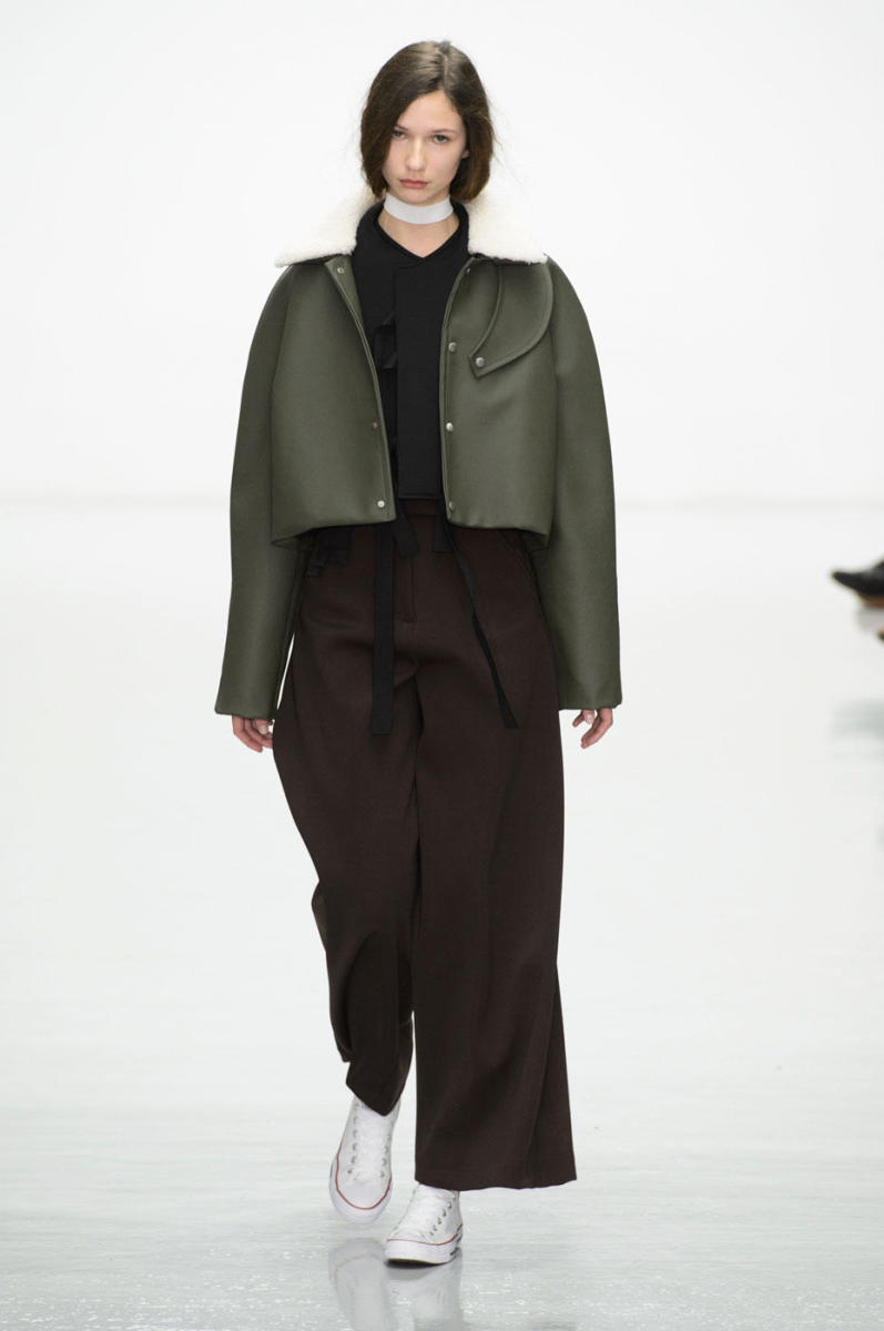 A look from the Agi & Sam fall 2016 collection. Photo: Imaxtree