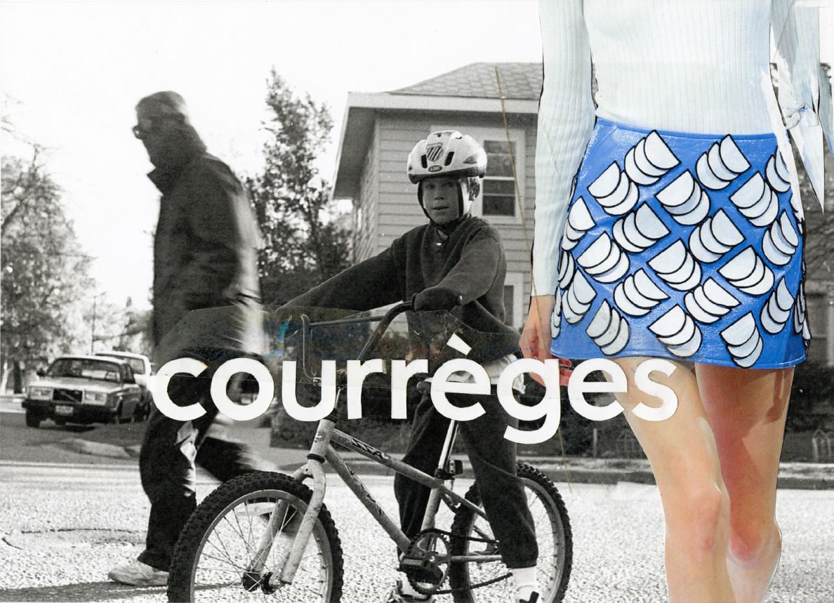 Courrèges spring 2016 image for Instagram. Photo: Kalen Hollomon/Courrèges