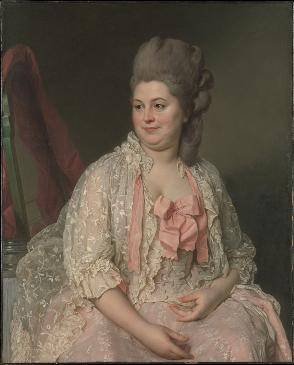 Madame de Saint-Maurice, Joseph Siffred Duplessis, 1776. Photo: The Metropolitan Museum of Art