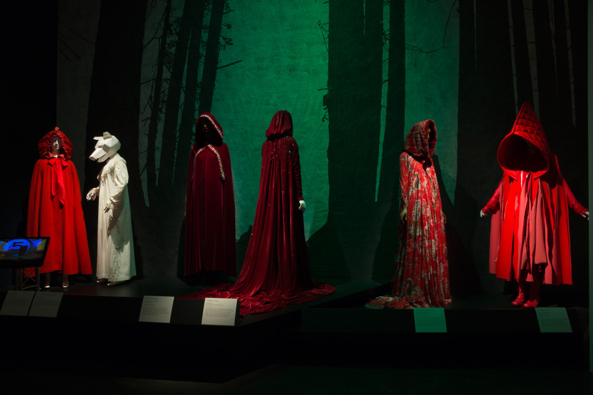 "The ""Little Red Riding Hood"" gallery inside ""Fairy Tale Fashion."" Photo: The Museum at FIT"