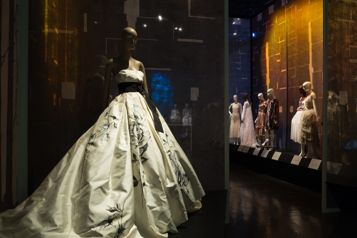 "The ""Snow White and Rose Red"" gallery inside ""Fairy Tale Fashion."" Photo: The Museum at FIT"