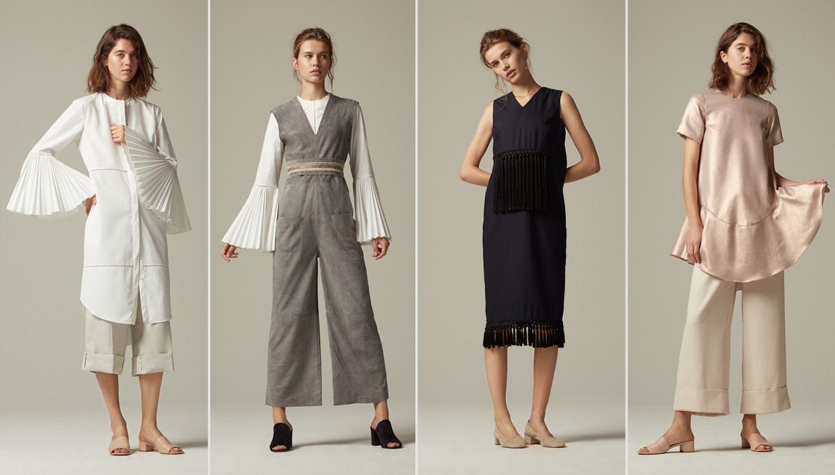 Looks from the Kaelen spring 2016 collection. Photo: Kaelen