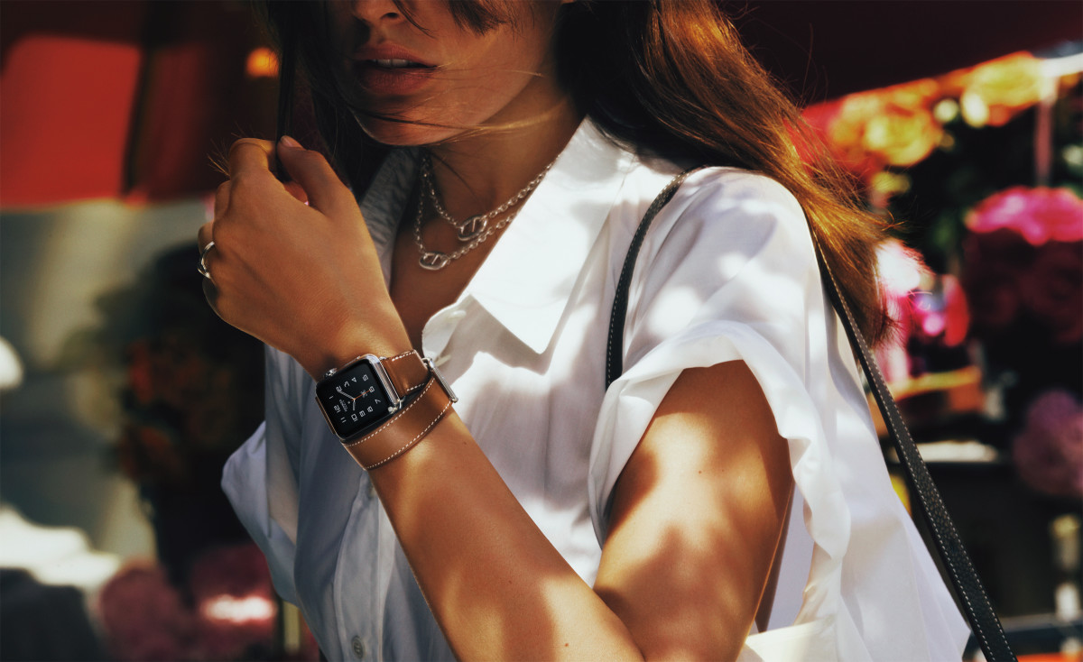 The Apple Watch Hermès. Photo: David Sims/Hermès