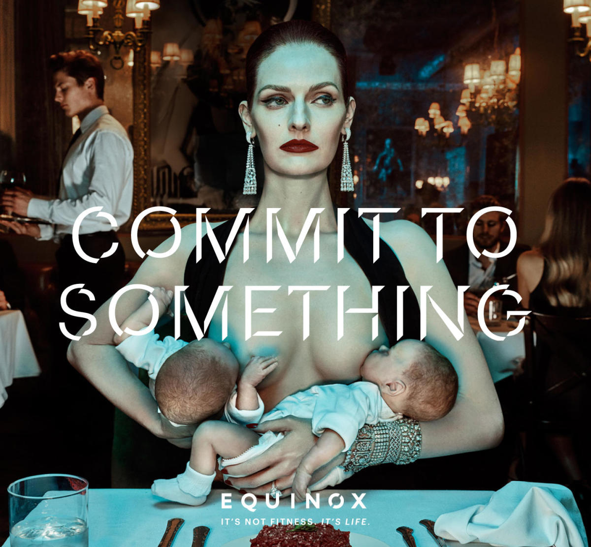 Lydia Hearst in the Equinox spring 2016 campaign. Photo: Steven Klein/Equinox