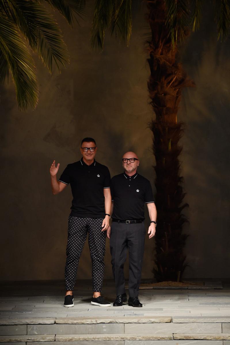 Domenico Dolce and Stefano Gabbana. Photo: Pietro D'Aprano/Getty Images