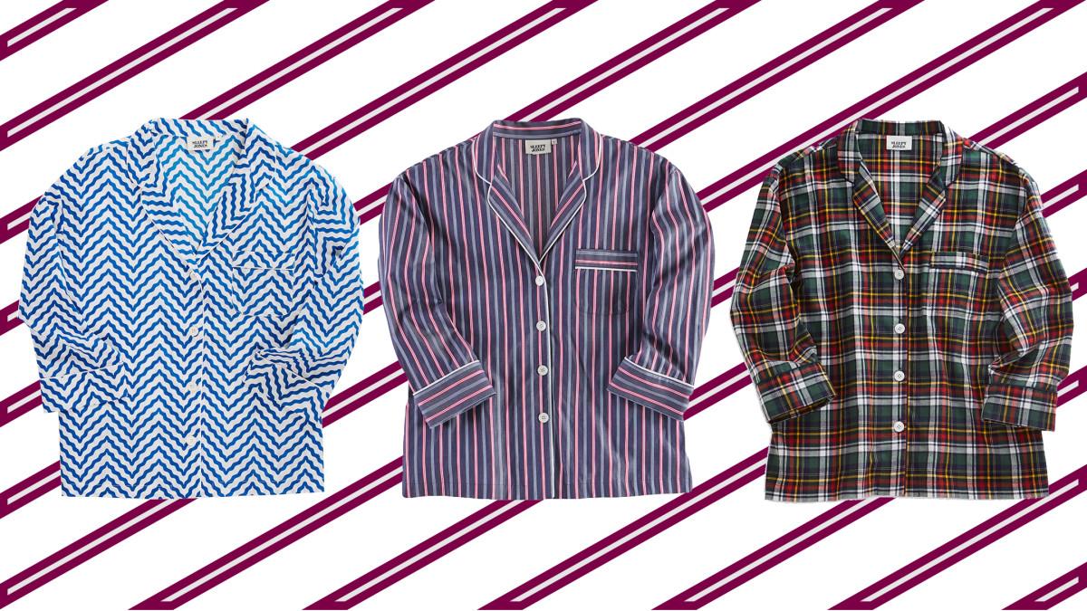 Sleepy Jones Marina shirts, now $59 or $79, available at Sleepy Jones.