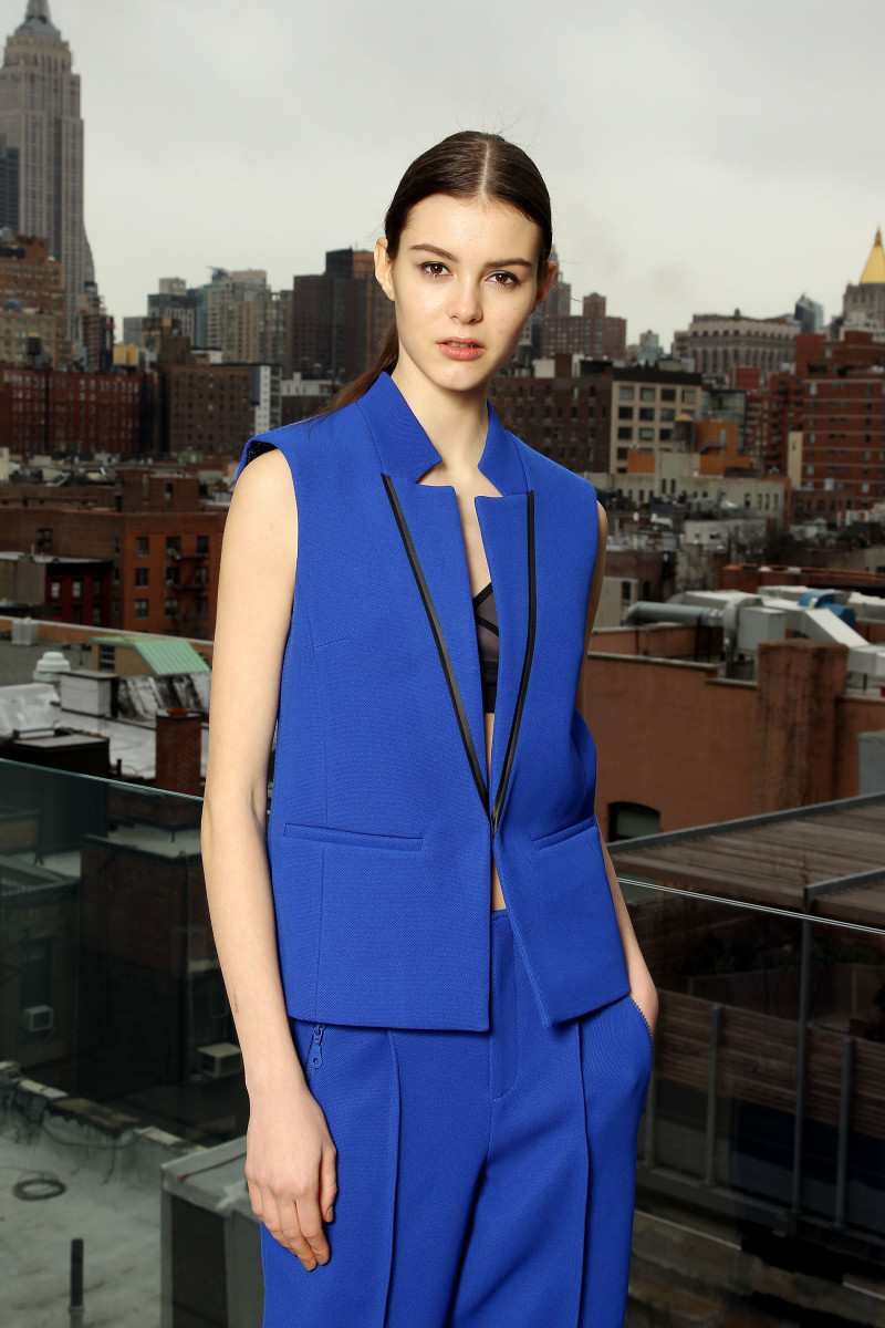 A look from Co+Co by Coco Rocha's debut collection. Photo: Co+Co by Coco Rocha