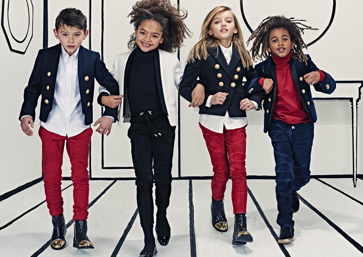 Each of these kids has more social media followers than you do. Photo:Balmain