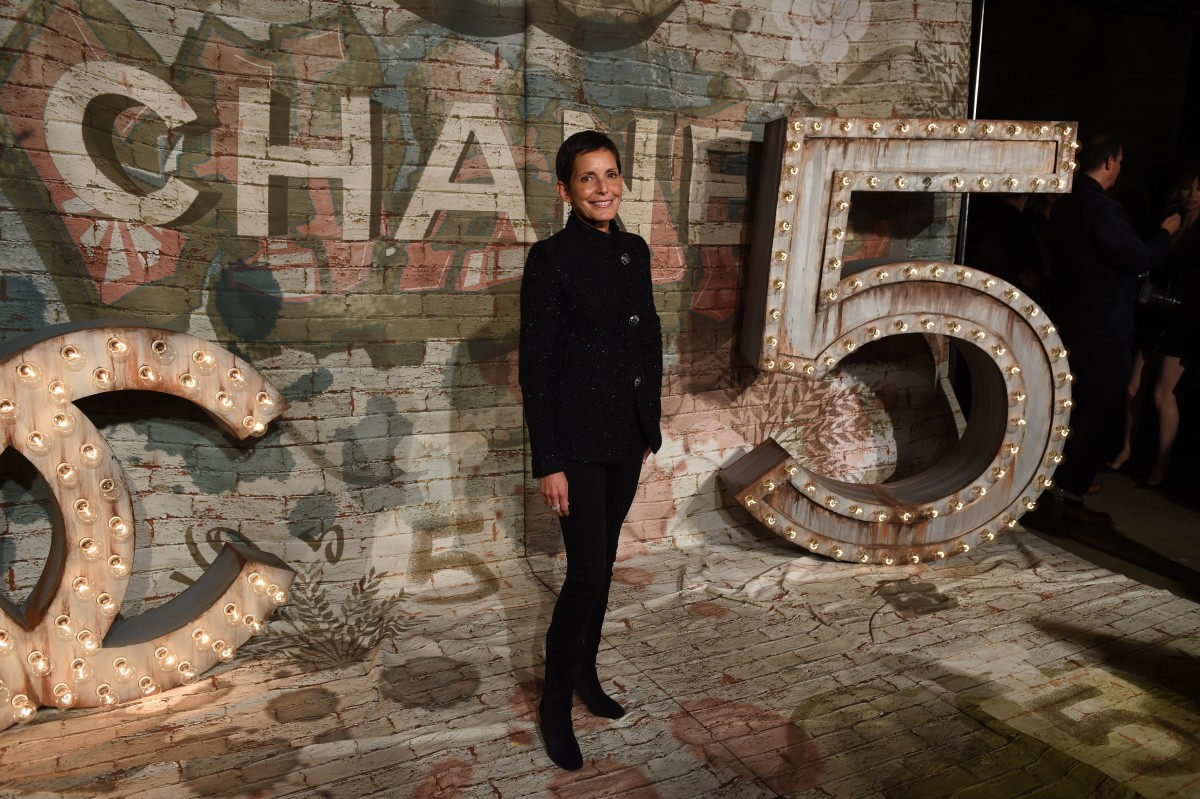 Maureen Chiquet at a Chanel dinner. Photo: Timothy A. Clary/Getty Images