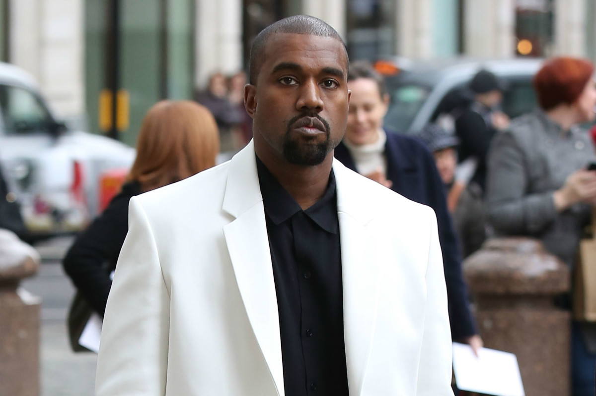 Kanye West at London Fashion Week in February 2015. Photo: Tim P. Whitby/Getty Images