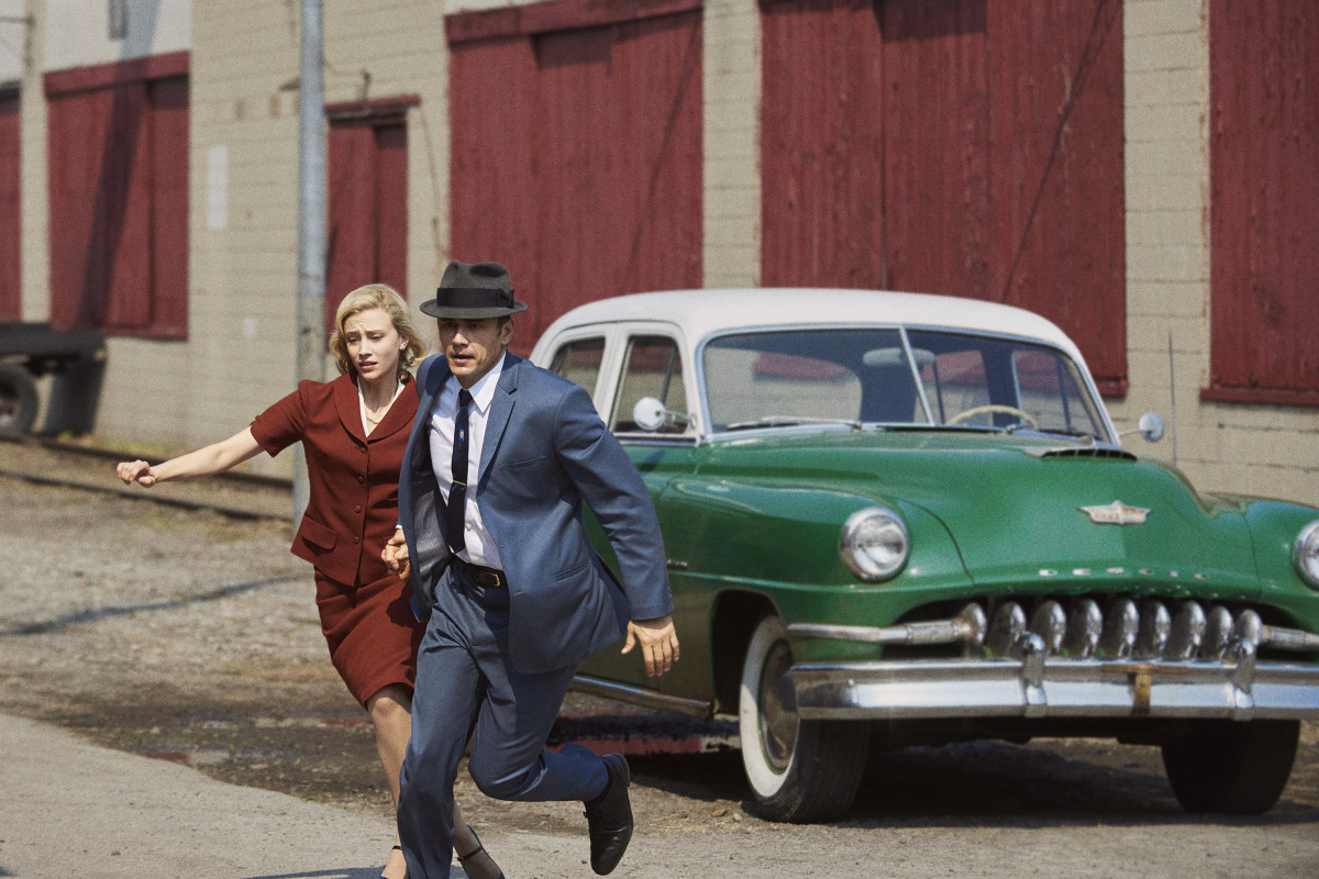 Sarah Gadon and James Franco in 11.22.63. Photo: Alex Dukay/Hulu