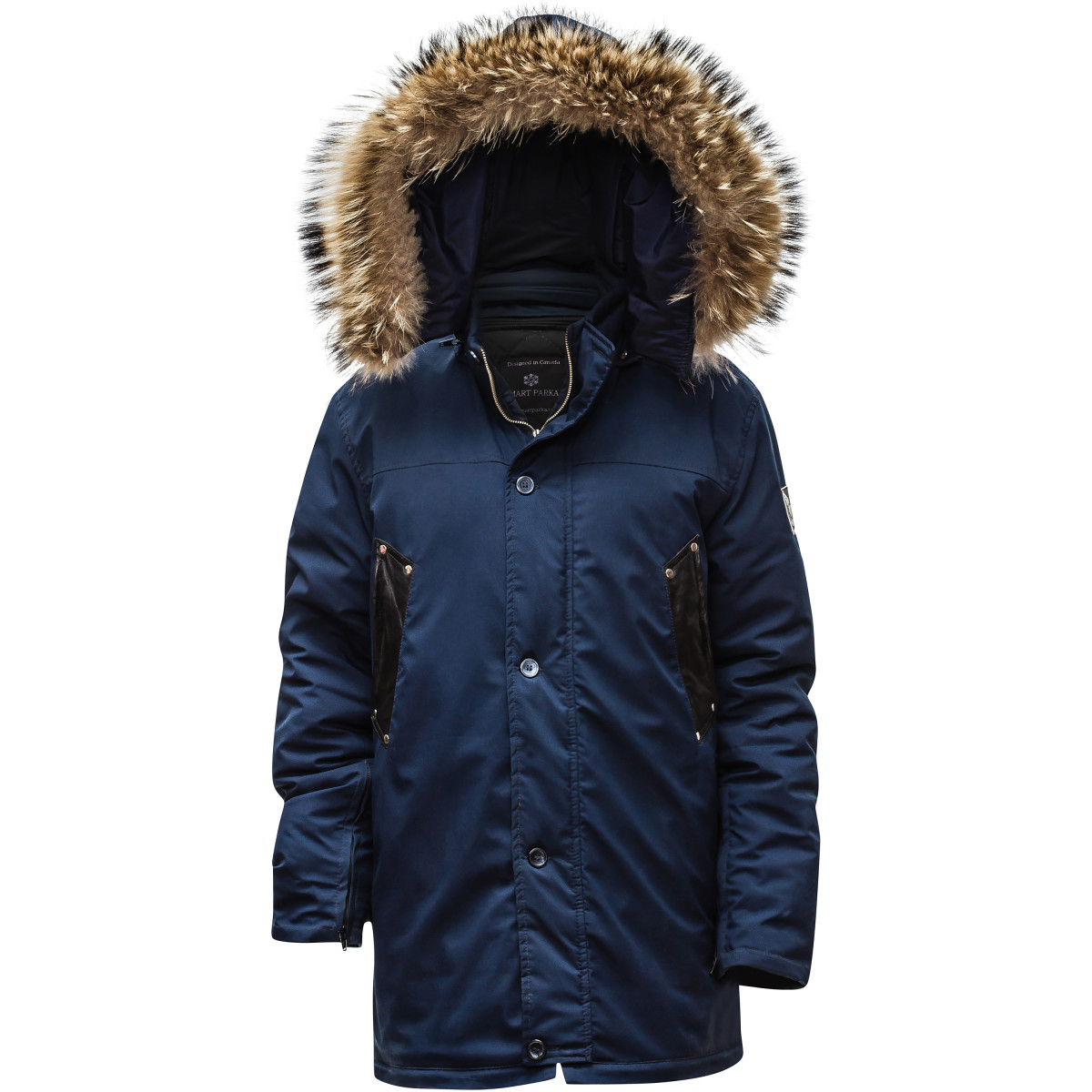 The Smart Parka 'Vogue' style for men. Photo: NorthAware.com