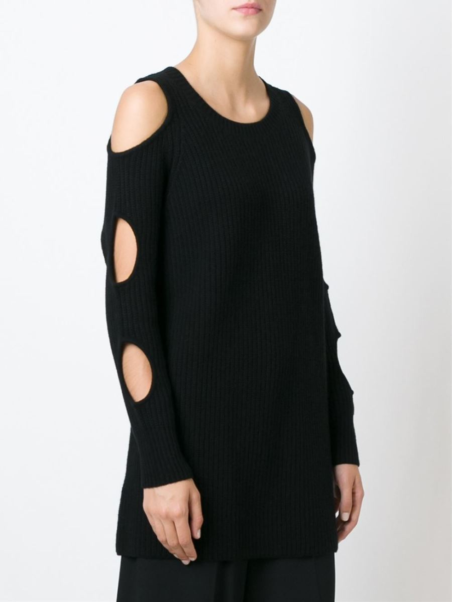 "A knit tunic from Zoë Jordan's ""Knitlab"" capsule collection, $551.77, available at Farfetch."