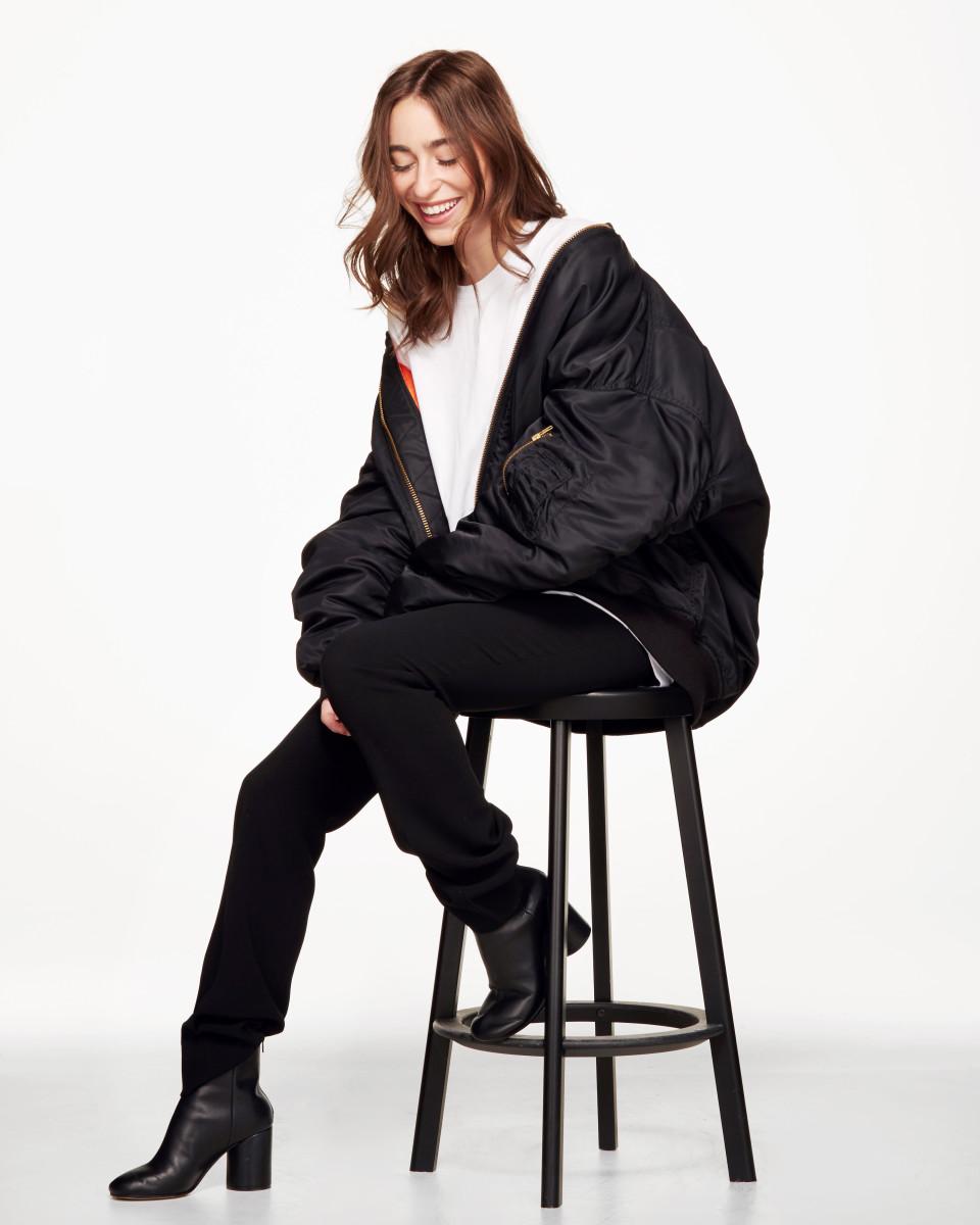 Alix Rutsey, menswear buyer for Ssense. Photo: Ssense