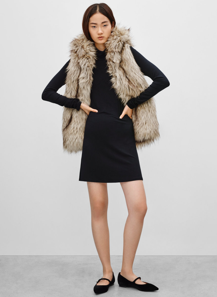 Sunday Best Ovid Vest, now $59.99, available at Aritzia.