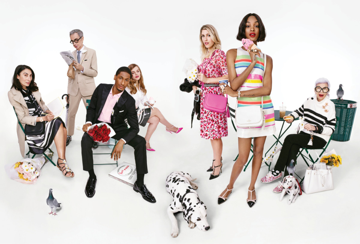 Kate Spade's spring 2016 ad campaign. Photo: Emma Summerton