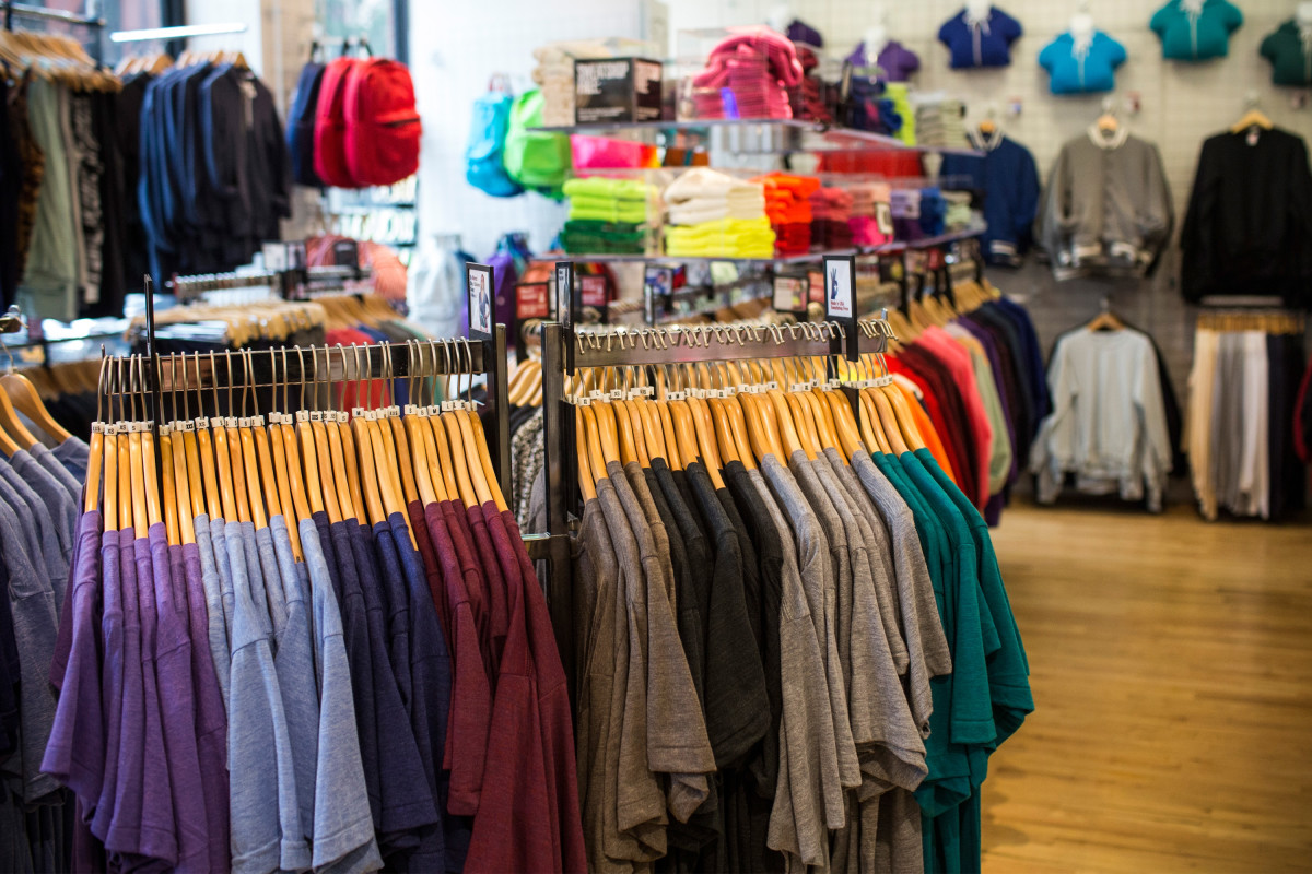 American Apparel store. Photo: Andrew Burton/Getty Images