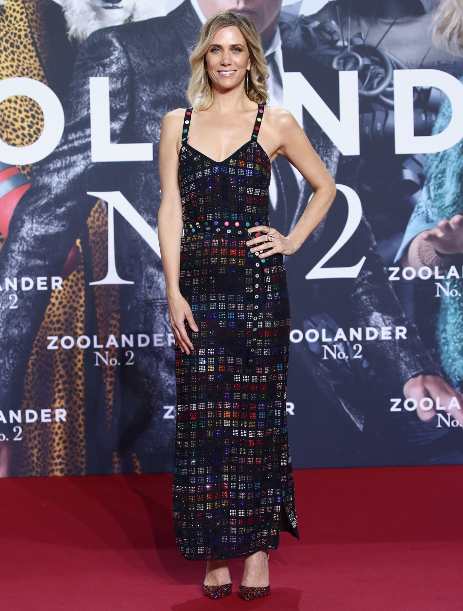"""Kristen Wiig at the """"Zoolander 2"""" premiere in Berlin. Photo: Andreas Rentz/Getty Images"""