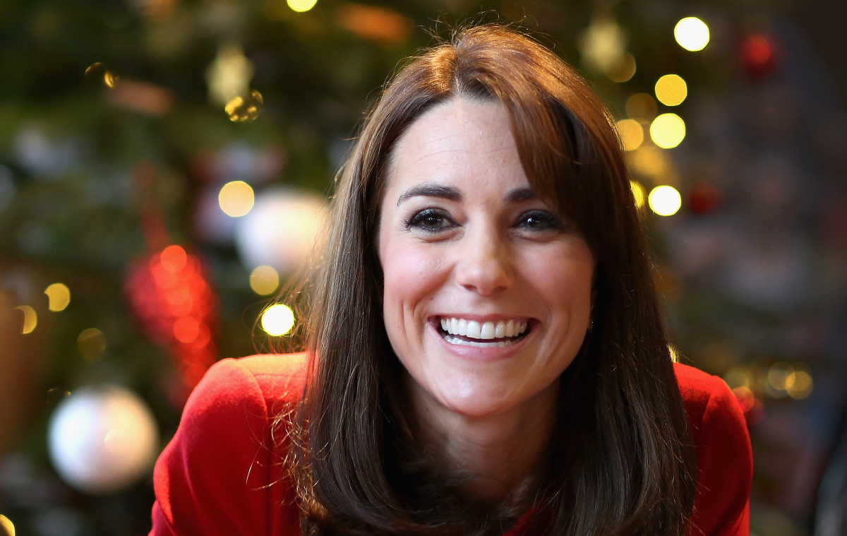 Kate Middleton in December: Photo: Chris Jackson/Getty Images