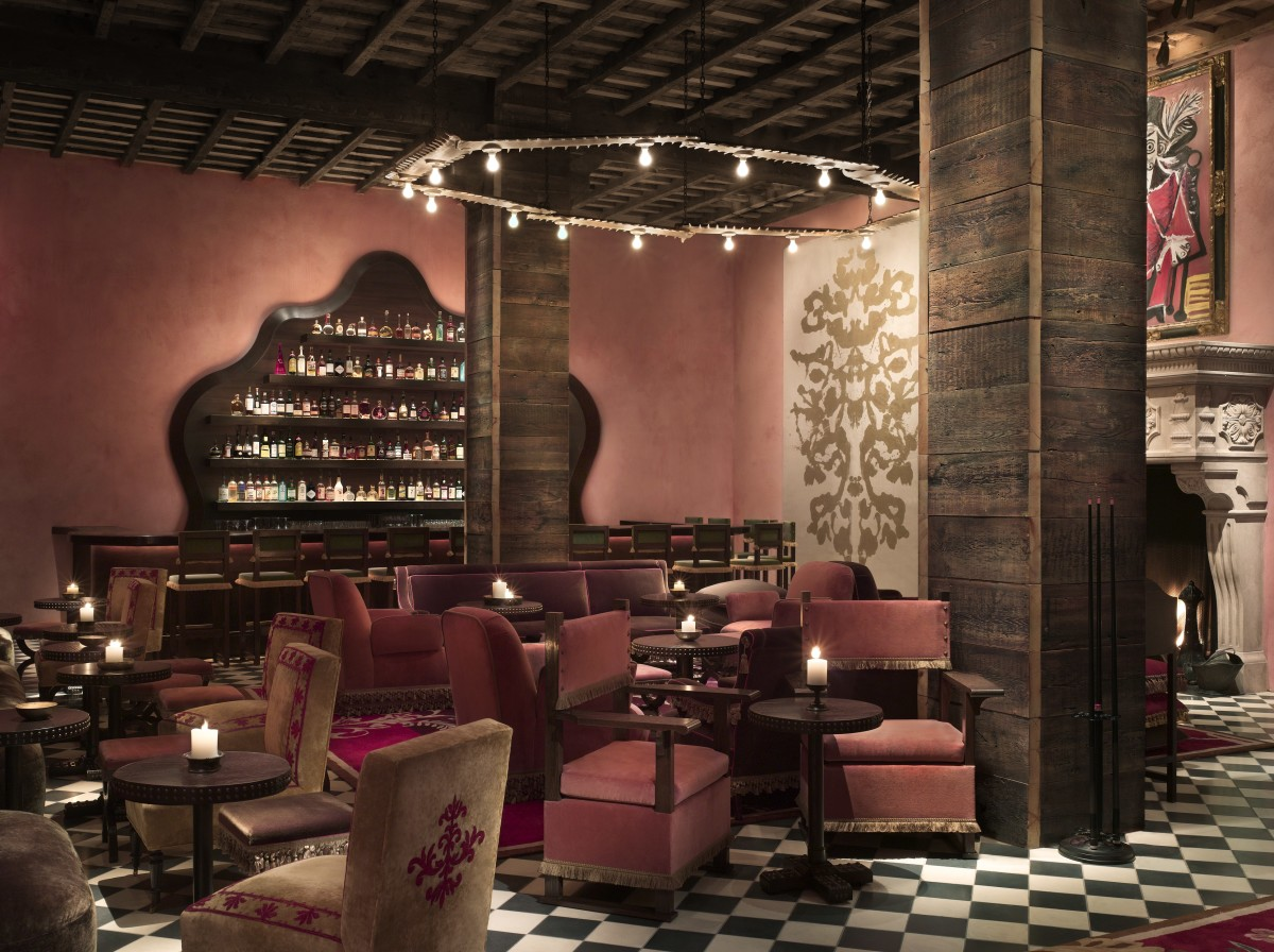 The Rose Bar at Gramercy Park Hotel. Photo: Gramercy Park Hotel