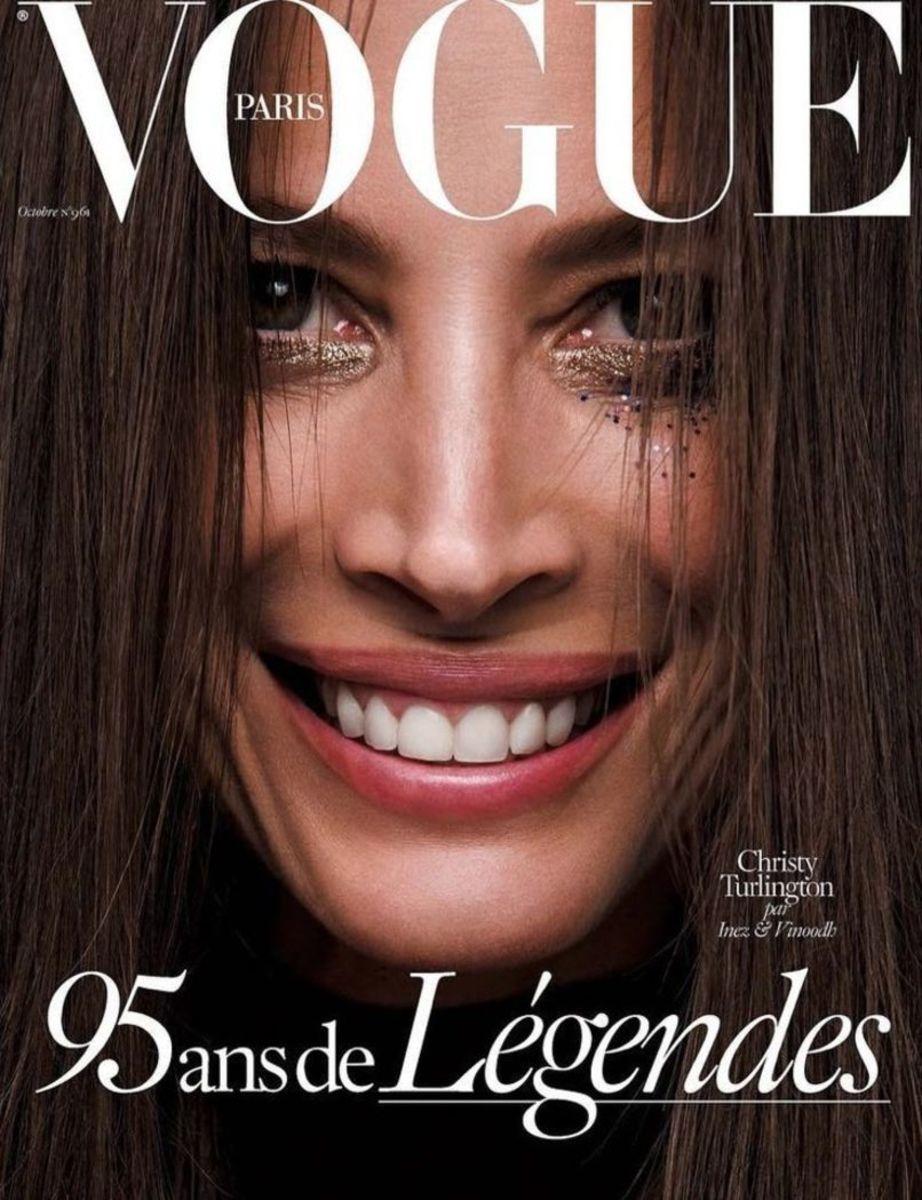 Christy Turlington (Photo: Inez Van Lamsweerde and Vinoodh Matadin/'Vogue' Paris)