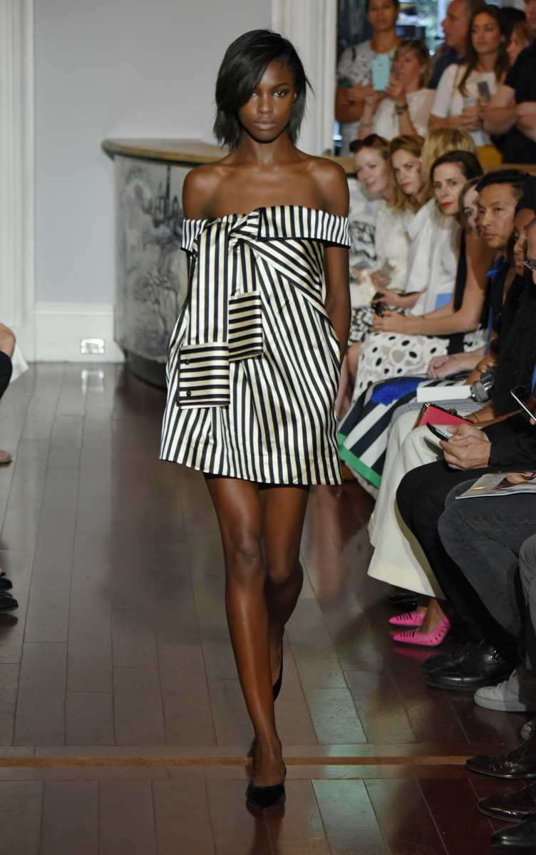 A look from Monse's debut runway collection. Photo: Monse
