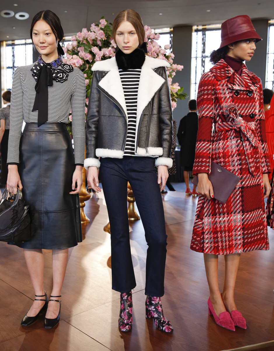 A look from Kate Spade's fall/winter 2016 presentation. Photo: Brian Ach/Getty Images