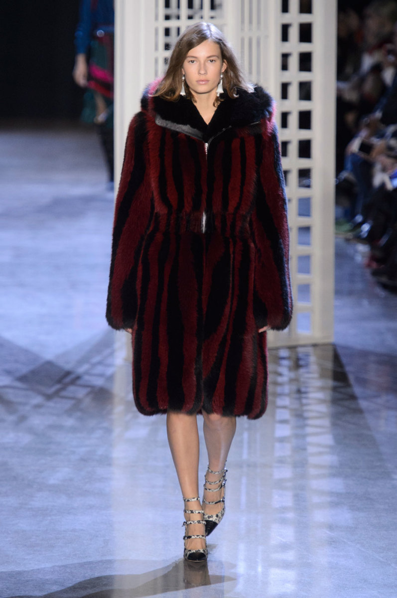 A look from Altuzarra's fall/winter 2016 collection. Photo: Imaxtree