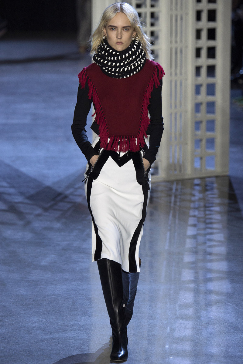 A look from Altuzarra's fall/winter 2016 show. Photo: Imaxtree