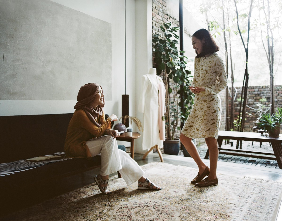 Uniqlo and Hana Tajima's spring 2016 campaign. Photo: Uniqlo