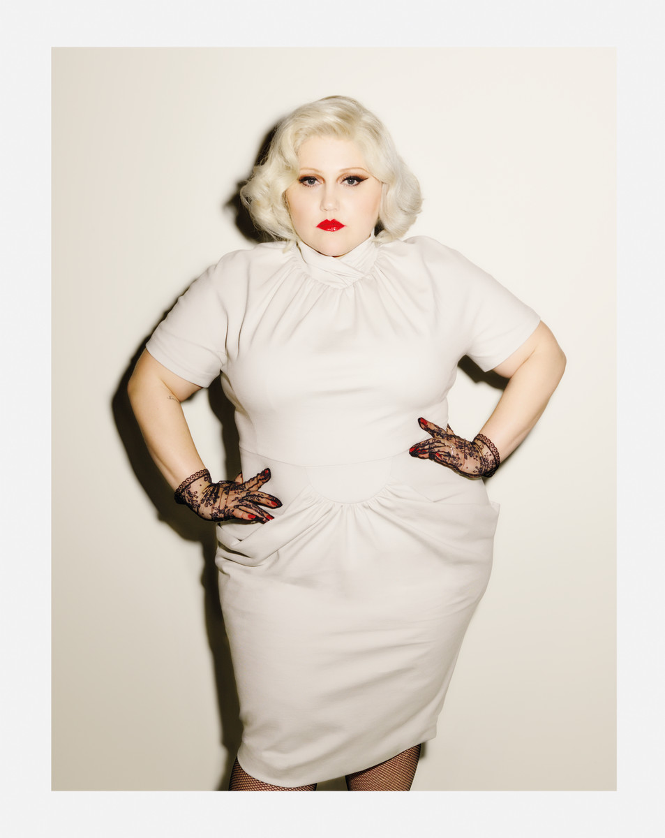 Beth Ditto in her eponymous collection. Photo: Ezra Petronio/Beth Ditto