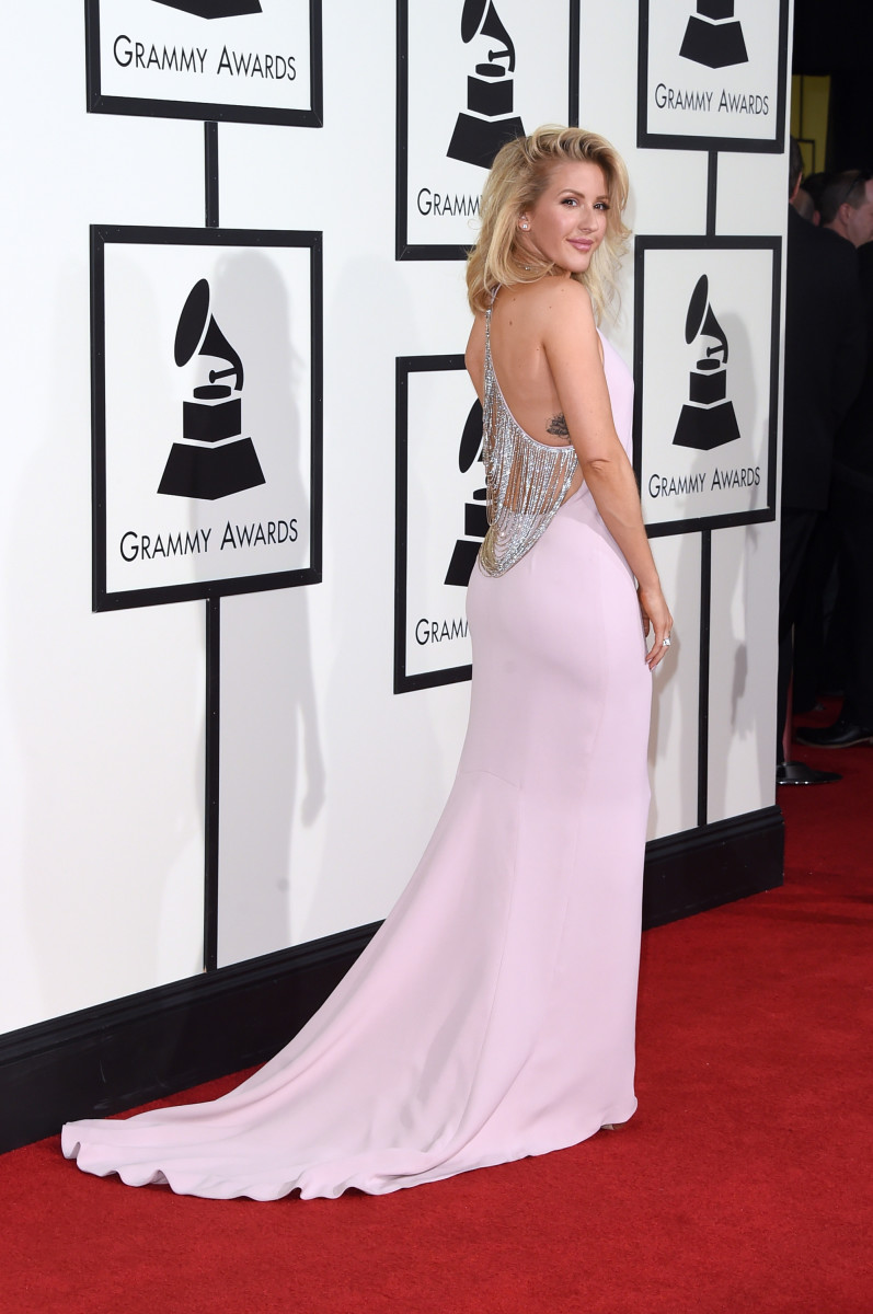 Ellie Goulding in Stella McCartney. Photo: Jason Merritt/Getty Images