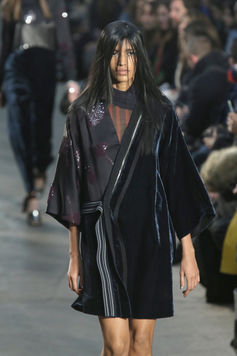 A look from the 3.1 Phillip Lim fall 2016 collection. Photo: Jemal Countess/Getty Images