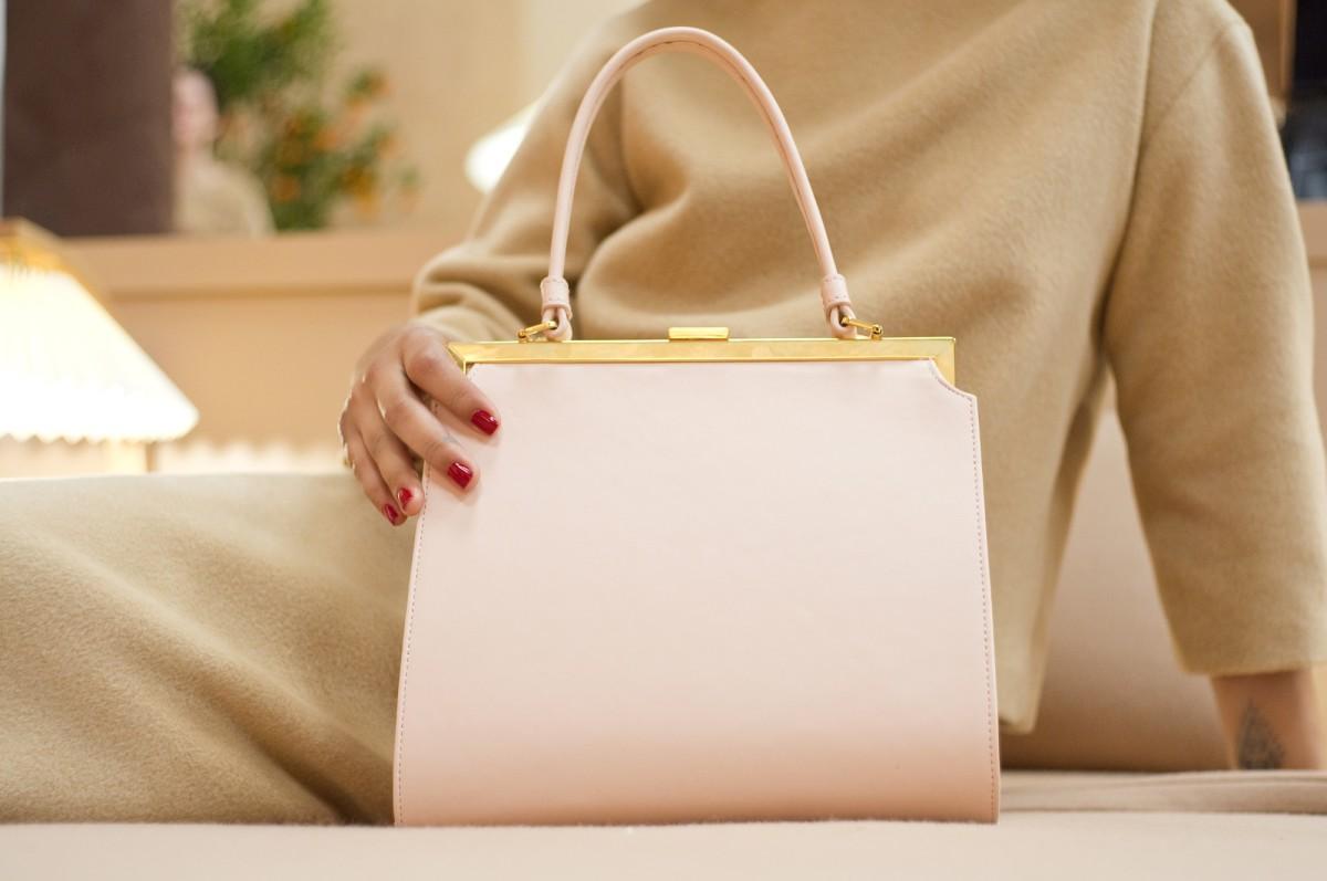 The Elegant bag in pink calf. Photo: Mansur Gavriel
