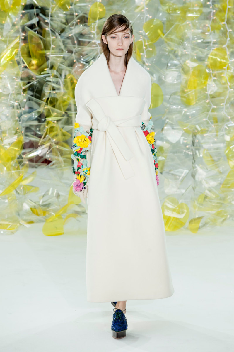 A look from Delpozo's fall/winter 2016 show. Photo: Imaxtree