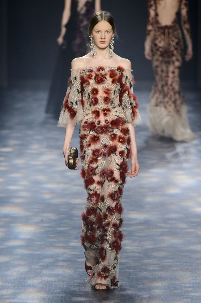 A look from Marchesa's fall/winter 2016 show. Photo: Imaxtree