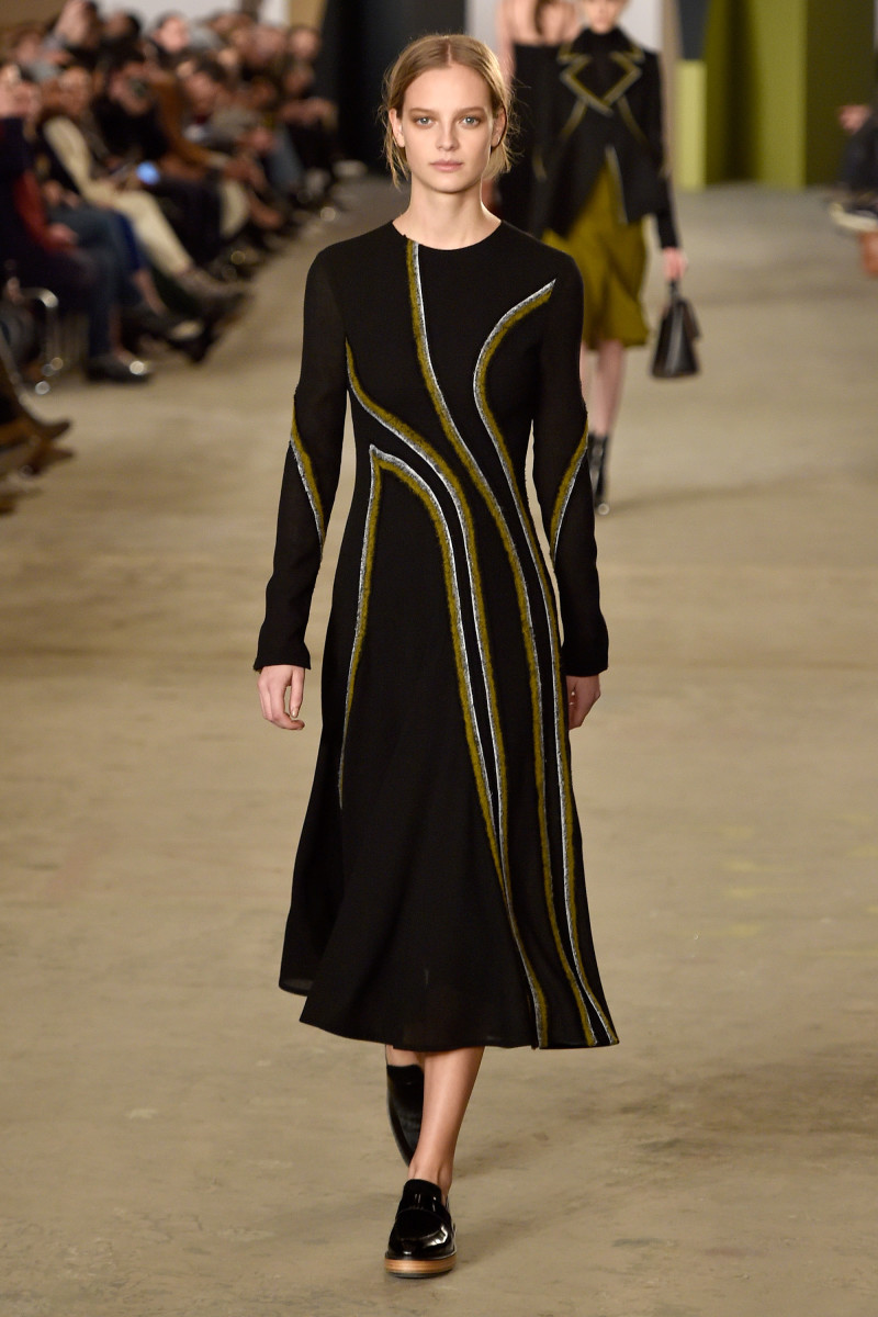 A look from Boss's fall/winter 2016 show. Photo: Slaven Vlasic/Getty Images for NYFW: The Shows