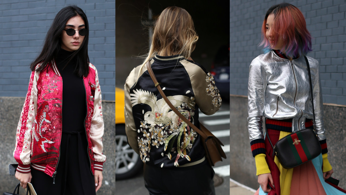 On the street at New York Fashion Week. Photos: Angela Datre/Fashionista